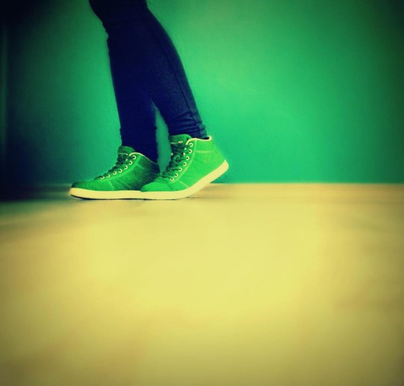 green green shoes shoes