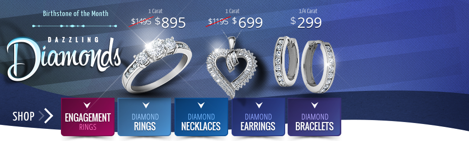 Online Jewelry Stores: Discount Engagement Rings, Earrings & More - My Jewelry Box