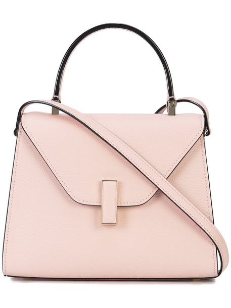 Valextra women bag crossbody bag leather purple pink