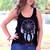 Tank Top Dreamcatcher Black