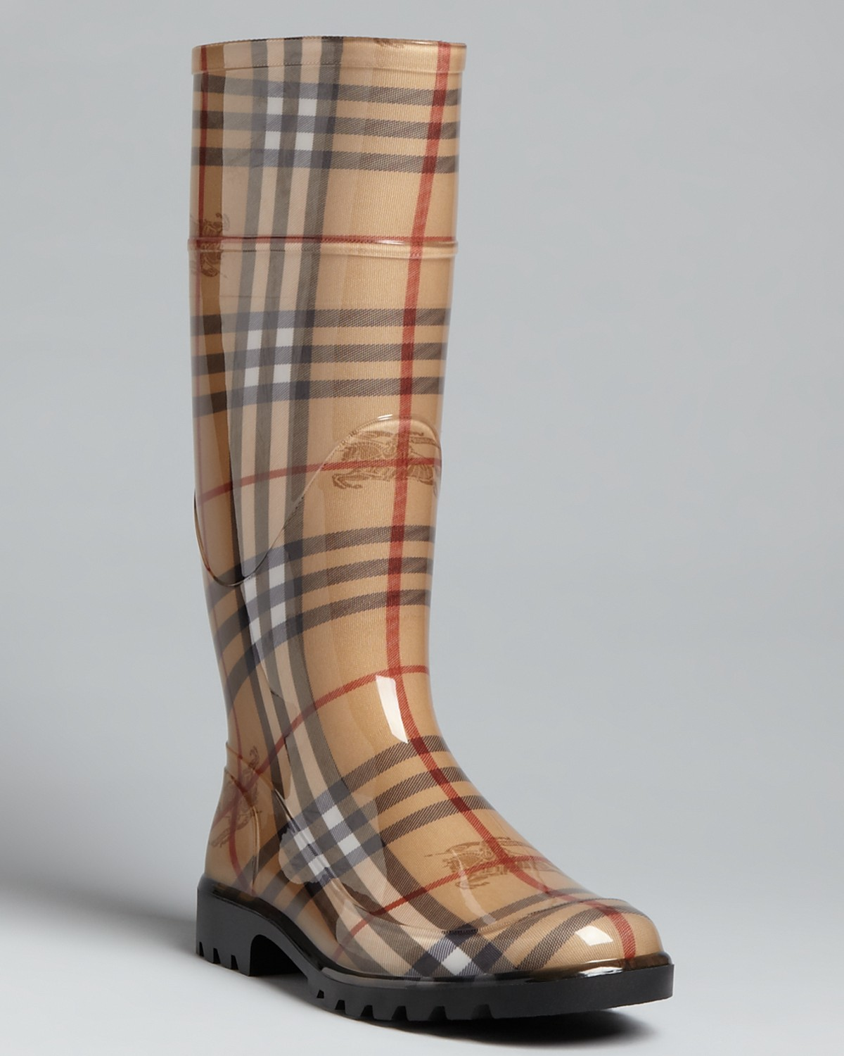 Burberry Rain Boots - Haymarket Check Plaid | Bloomingdale's