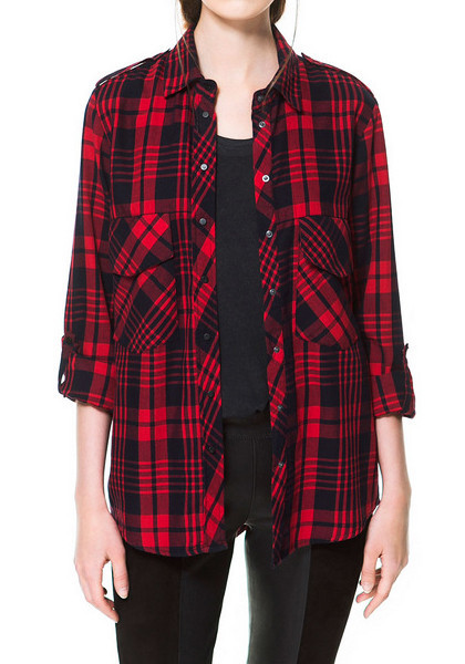 plaid shirts for women tumblr