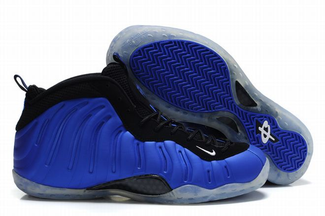 Eggplant Air Foamposite One Royal Blue Men Basketball Sport Shoes -  $99.99