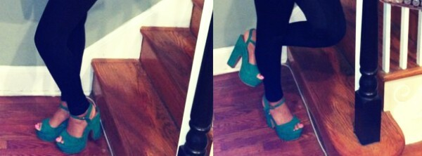 shoes platform heels