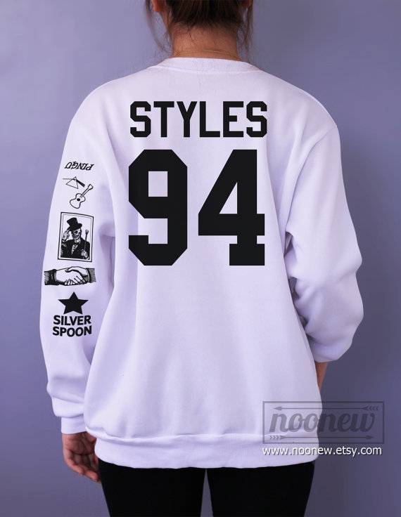 22d24a3b9eeb Harry Styles Tattoo Sweatshirt Sweater Crew Neck Shirt – Size S M L XL