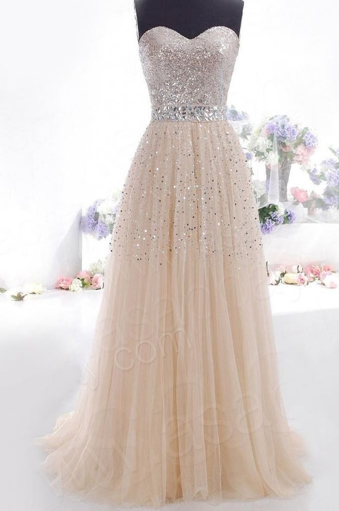 2014 Stock Evening Gowns Prom Ball Dress SZ:6-8-10-12-14 | eBay
