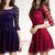 Aurelia Wardrobe | Rakuten: ♥ p r e ♥ o r d e r ♥ Megumi Skater Lace Dress: TR018