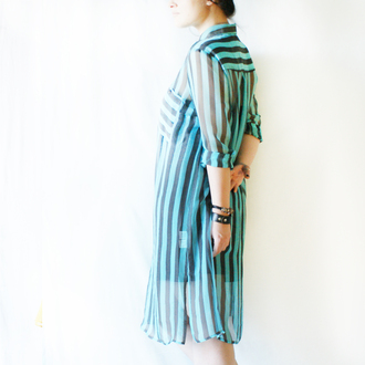 dress silk dress shift dress silk stripes striped shirt striped blue blue dress shirts shirt bohemian bohemian dress boho style boho chic hipster minimalist minimalism simple dress shift collar tips collar long sleeves long sleeved dress