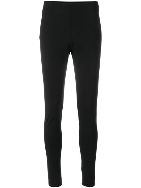 theory leggings women classic spandex black pants