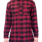 Kingin Flannel – Red | Last Kings