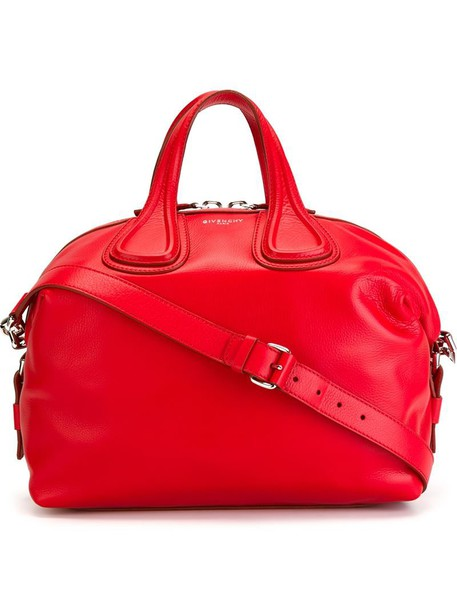 Givenchy women leather red bag