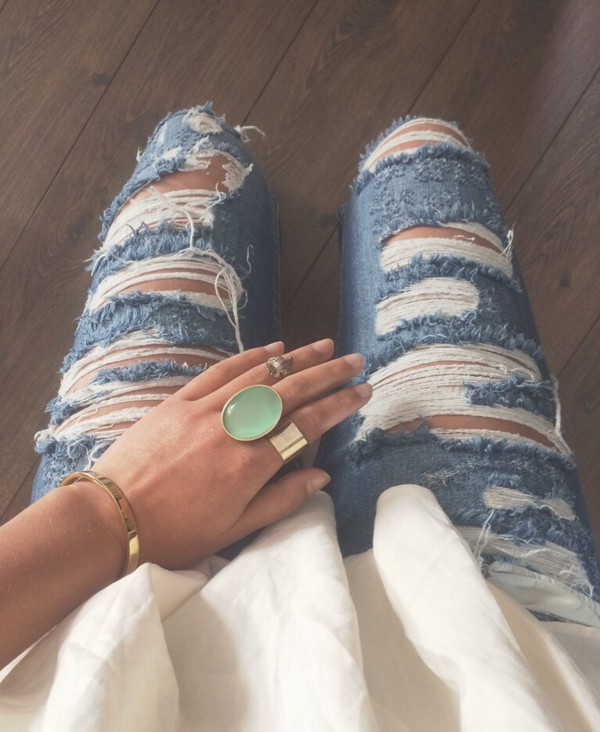 jeans pull and bear jewels