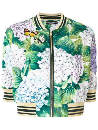 jacket bomber jacket women spandex print silk green