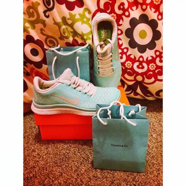 2393a9a8599b shoes nike free run baby blue tiffany and co tiffany blue nikes nike free  run 3.0