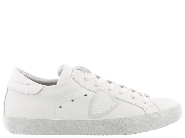 glitter paris sneakers blanc shoes