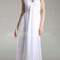 Chiffon sheath/ column v-neck floor-length evening dress - usd $ 148.49
