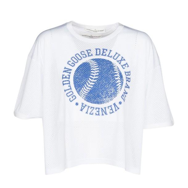 Golden goose t-shirt shirt t-shirt white top