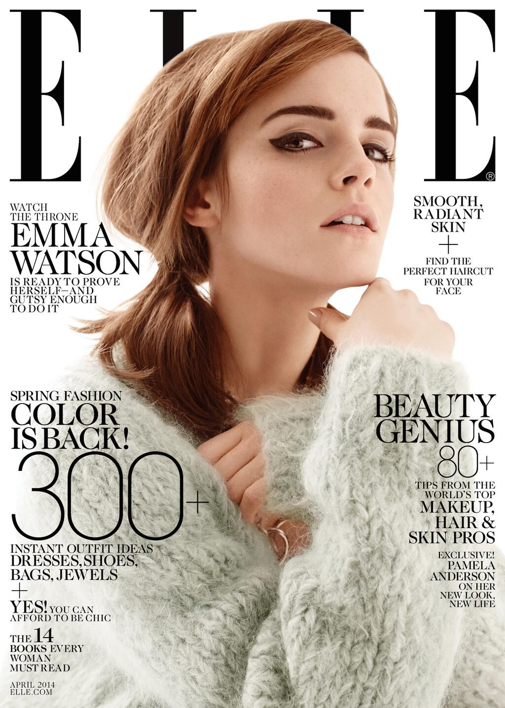 Emma watson for elle magazine april 2014