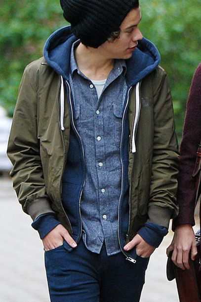 Bomber Jacket And Hoodie Trendy Clothes