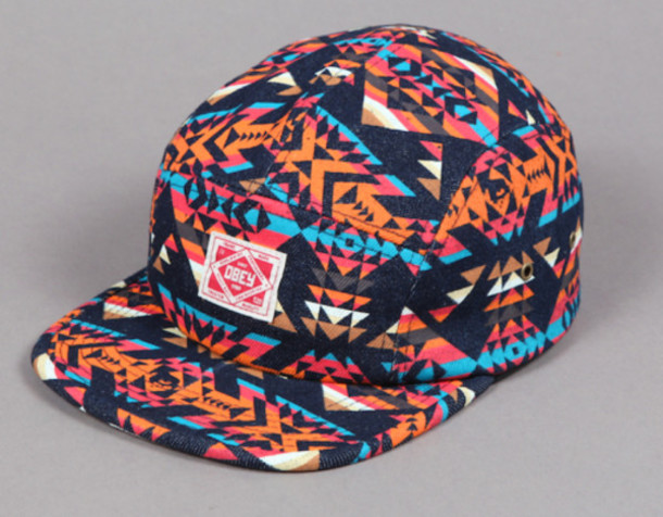obey snapback snapback rare hat limited obey original pattern cap india  westbrooks obey dope dope hat a2468b56fa3