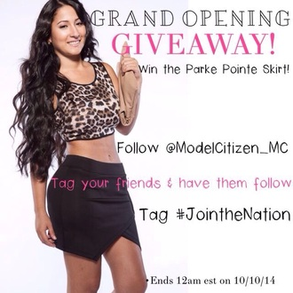 clothes black skirt cute skirts girly leopard print lilly ghalichi point model citizen citizen youth women clothing boutique skirt fashion urban outfitters top forever 21 style brandy melville urban outfitters shirt vintage thrift black leopard print contest giveaway model zara fall outfits