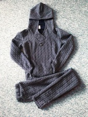 coat,girly,cute,grey,grey sweater,sweater,printed sweater,sweater weather,knitted sweater,winter sweater,sweaters cute print food yum,gray hoodie,gray coat,gray pants,gray comfy casual winter coat,gray printed sweater,grey sweatpants,grey coat,grey hoodie