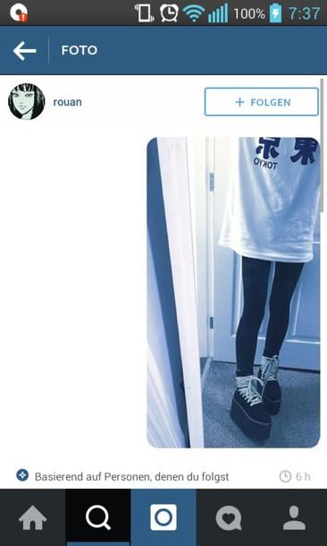 shirt tokyo white japan chinese tumblr