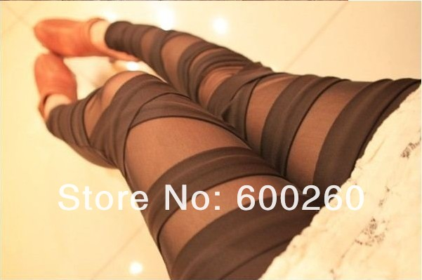 Free Shipping Ripped Cut out Bandage Black legging Woman Lady Leggings trousers Sexy Pants 5114-in Socks & Hosiery from Apparel & Accessories on Aliexpress.com