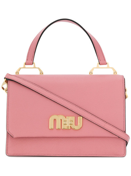 Miu Miu women bag leather purple pink