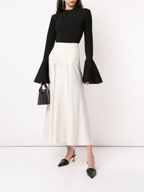 Solace London Moritz bell-cuff Sweater - Farfetch