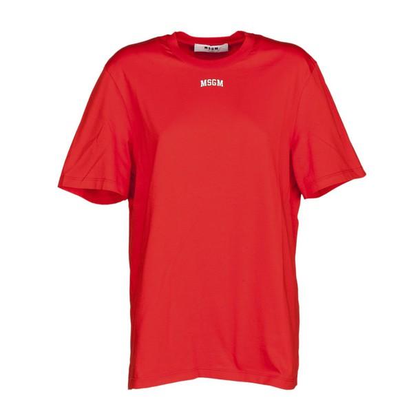 MSGM t-shirt shirt t-shirt red top