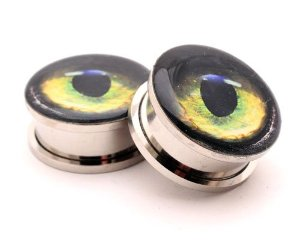Sold as a pair: body piercing plugs: jewelry