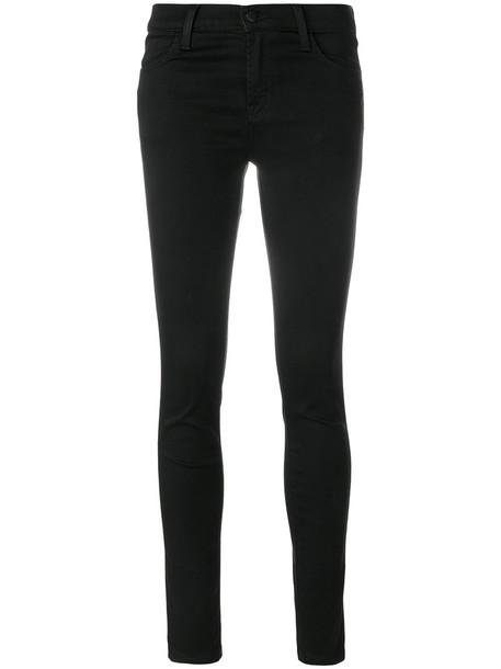 J BRAND jeans skinny jeans women spandex black