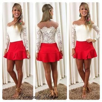 blouse clothes body lace tule white bodysuit lace bodysuit shirt