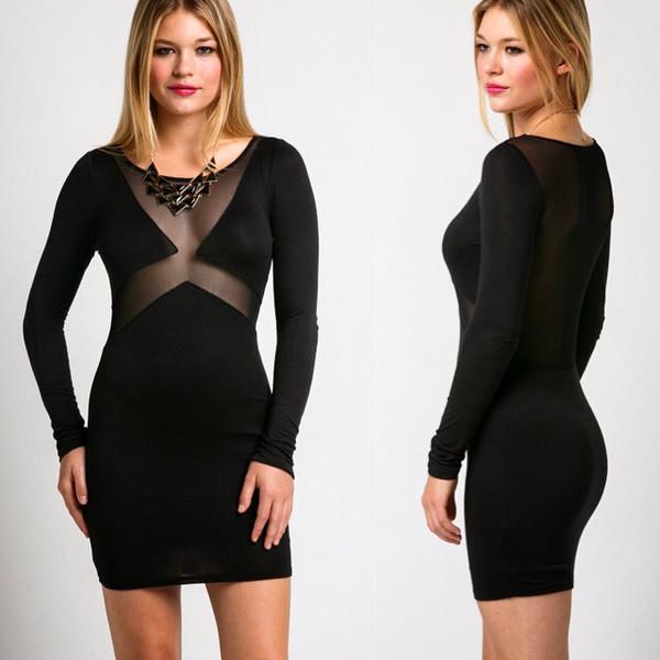 black mesh dress jersey mini dress black dress mesh black mini dress