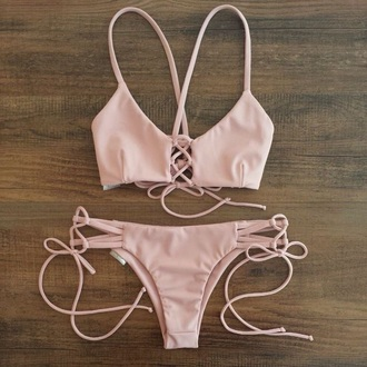 swimwear light pink