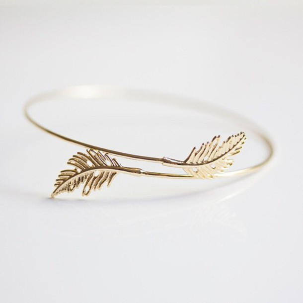 jewels feathers instagram bracelets