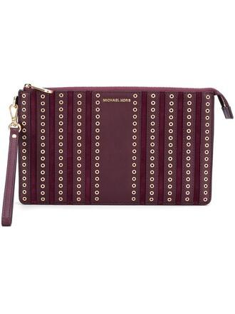 women brooklyn pouch red bag