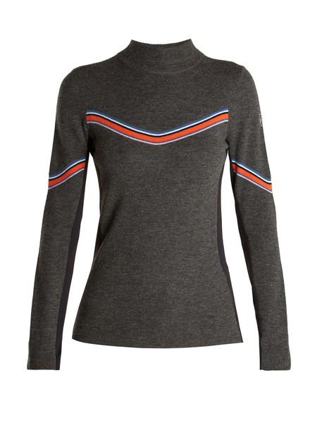 TONI SAILER sweater wool grey