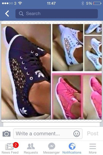 Shoes White Adidas Lace Detailed Pumps Wheretoget