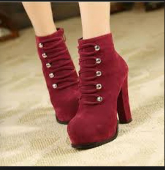 high heels @heels red high heels ankle boots
