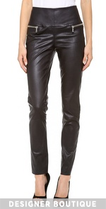 Womens Leather Pants