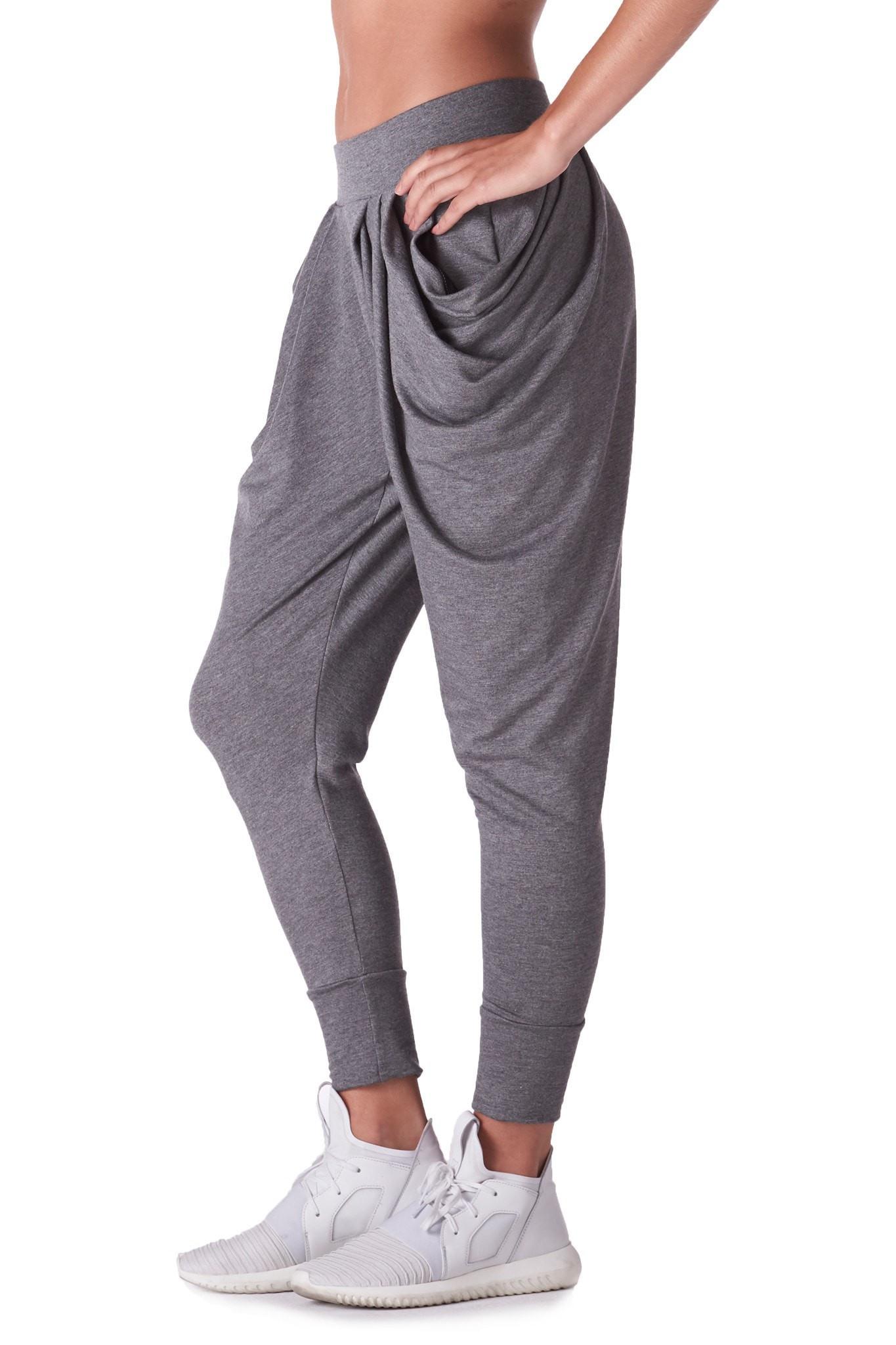 Michi Imperial Harem Pant   Luxury Sweatpants
