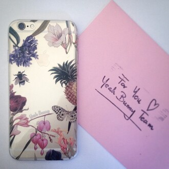 phone cover yeah bunny iphone floral holy garden cute pineapple transparent