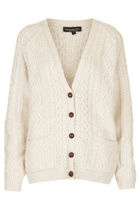 Tall Knitted Cable Cardi - Topshop