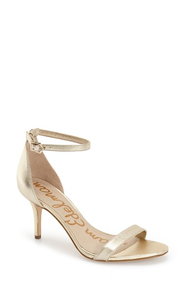 6f8f1abaa975fe Sam Edelman  Patti  Ankle Strap Sandal (Women)