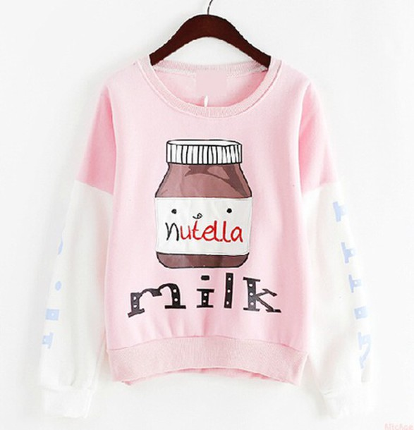 sweater nutella