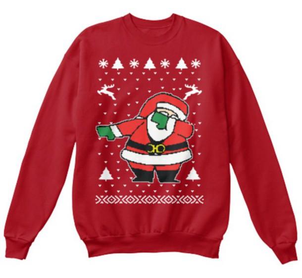 Sweater: 2 chainz sweater, dabbing santa sweater, dabbing santa ...
