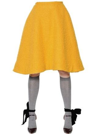skirt light orange