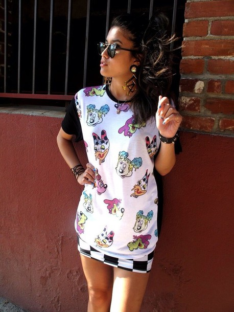 Mouse t Shirt Shirt Mickey Mouse Trill Dope